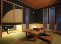 個性のあるモダン和室