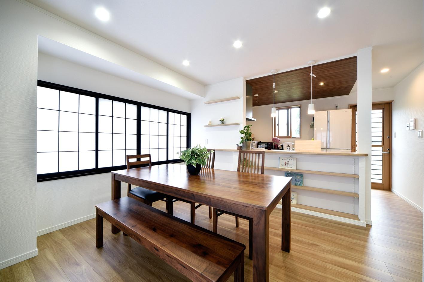 LDK・水廻り・玄関改築工事(佐野市T様邸)