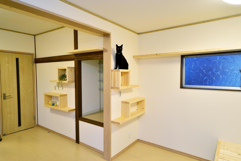 猫と楽しく共生できる部屋(宇都宮市M様邸)