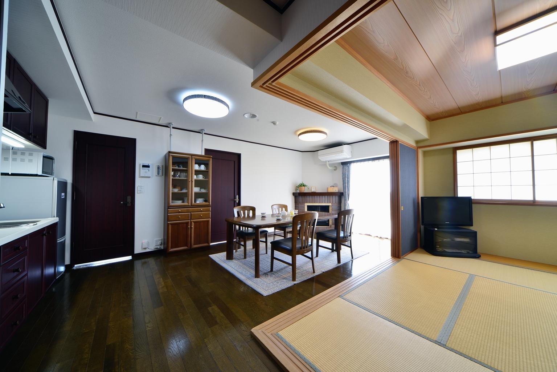 保養所の内装・設備をリニューアル(那須町M様邸)