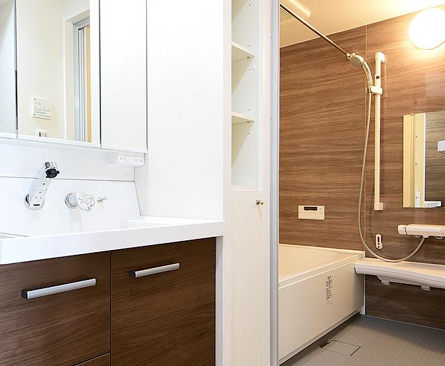 マンションリフォーム:洗面所/浴室