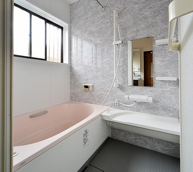 水廻り4点リフォーム工事:浴室