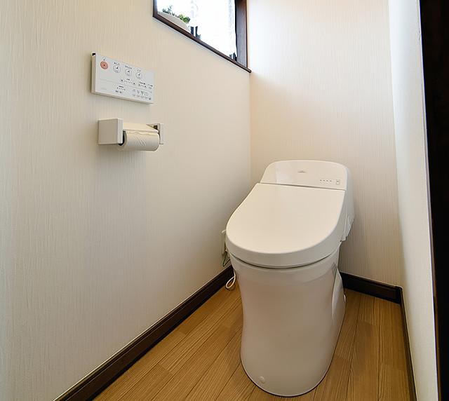 水廻り4点リフォーム工事:トイレ