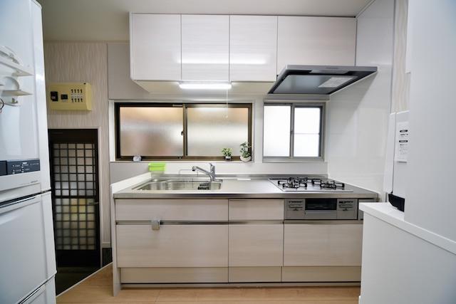 キッチン交換工事:キッチン