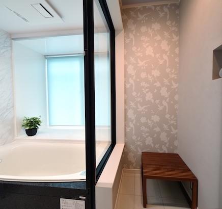 栃木県宇都宮市 - デザイン重視の浴室リフォーム