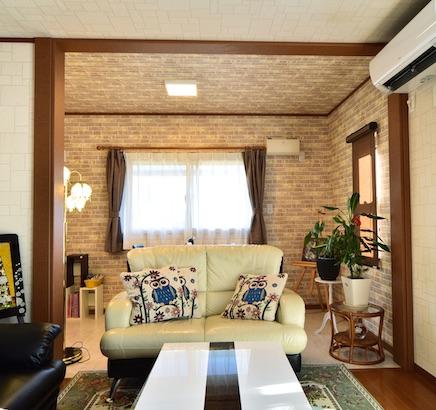 栃木県ひたちなか市 - お孫さんも喜ぶリビングと和室の増築工事