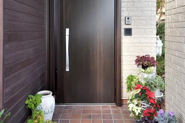 タイルデッキ設置・玄関ドア交換工事:キッチン
