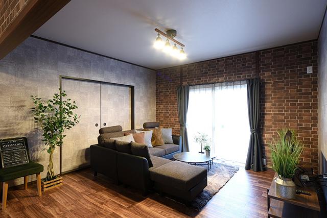 思い出の家具に合わせて理想の住まいにリフォーム:思い出の家具