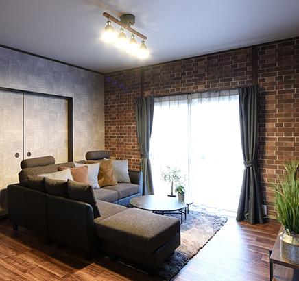 栃木県宇都宮市 - 思い出の家具に合わせて理想の住まいにリフォーム